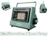 2016ナチュラルNEWCOLOR[屋外専用CB缶対応] アウトドアカセットガスヒーター (カリフォルニアブルーグレイ)(低温時装置ジェネレーター付)(カセットガスストーブ仕様)(キャンプヒーター)