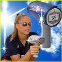 <野球練習用品/スピードガン>◆送料無料◆電池&ウエストホルダー付◆1年保証◆ブッシュネル・デジタルスピードガン スピードスターV