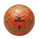 【最大5,500円OFFクーポン】サッカーボール ミズノ mizuno 4号 検定球 オレンジ×イエロー×ブラック 12OS37054 取寄