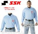 SSK 野球 審判用長袖ポロシャツ UPW028 秋冬物 秋冬ウエア