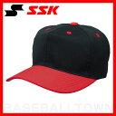 20%OFF SSK 野球用品 ベースボールキャップ 角ツバ6方型 ブラック×レッド BC062-9020 練習帽