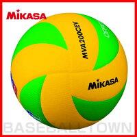 30%OFF 最大5000円引クーポン バレーボール ミカサ バレーボール5号球 欧州連盟試合球 黄/緑 MVA200CEVの画像