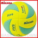 【最大7%OFFクーポン】バレーボール ミカサ 軽量4号球 レッスンバレー EVA 約160g 黄/緑 SLV4-YLG