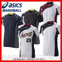 20%OFF 最大1500円引クーポン アシックス 野球 ユニフォームシャツ ゴールドステージ ブレードシャツ BAD101 野球ウェア 取寄 メール便可