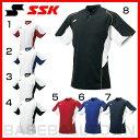 SSK 野球 2ボタンベースボールTシャツ 半袖 2016 取寄 SSUR