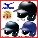20%OFF 最大5000円引クーポン ヘルメット 野球 ミズノ mizuno 軟式用 両耳付打者用 2HA388