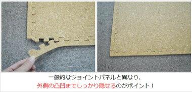 裏面滑り止め付き折りたたみ鉄棒専用マットパネルジョイント式/表面コルクコーティング済み140cm×185cmベースボールタウンオリジナルあす楽対応
