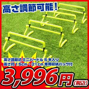 サッカー ハードル トレーニング