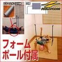 野球 練習 天井スローイングボード フォームポール付き 投球 ピッチング お部屋 室内
