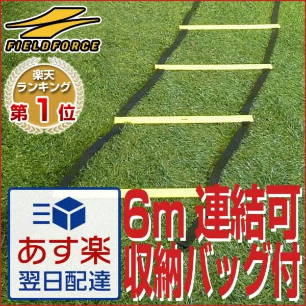 最大12%引クーポン トレーニングマニュアル付き トレーニングラダー 6m 送料無料 スピ…...:bbtown:10033365