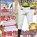 最大10%引クーポン 野球 ギガストレッチパンツ ジュニア用 練習着パンツ ショートフ
