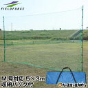 最大10%引クーポン 野球 練習 バックネット 軟式用 M号・J号対応 実打撃不可 5×3m 収納バッグ付き 防球ネット グラウンド用品 FBN-5030BN2 フィールドフォース トレーニング