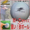 最大14%引クーポン 野球 練習 アイアンサンドボール 軟式M・C号サイズ 重さ約3倍 インパクトパ...
