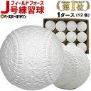 フィールドフォース J号練習球 1ダース売り 軟式野球ボール...