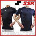【最大7%OFFクーポン】野球用品 アンダーシャツ SSK 野球用品 SCαローネック 丸首 半袖アンダーシャツ SCA140LH SSUR