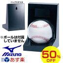 50%OFF 最大12%引クーポン 野球 サインボールケース ミズノ mizuno ボール用ケース 2ZO360 あす楽