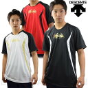 52%OFF 最大10%引クーポン ベースボールシャツ 半袖 XGN デサント ハイブリッド ベーT Tシャツ ウォームアップシャツ ピステシャツ プラシャツ トレーニングシャツ DBX-5601A あす楽 春夏物