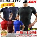 日本製!野球用品 SSK フィットアンダーシャツ ローネック...