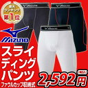 スライディングパンツ 野球 ミズノ mizuno ファウルカップ収納式 パッド付き 52CP200 ギフト