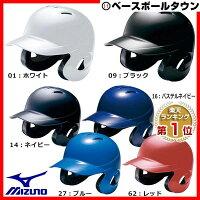 20%OFF 最大4000円引クーポン ミズノ 軟式用ヘルメット 両耳付打者用 2HA388 取寄の画像