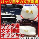 最大2500円OFFクーポン 本体別売り バッグ用刺繍オプション ポケット取り外し可能なバッグ対応