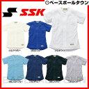 20%OFF 最大2500円OFFクーポン SSK 野球 練習着・ユニフォームシャツ ジュニア用 無地メッシュシャツ US0001JM 少年用 取寄 P5R