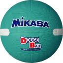 全品5%引クーポン 20%OFF ミカサ ドッジボール 教育用白線入り 1号 グリーン D1W-G 取寄