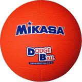 ドッジボール ミカサ 教育用 2号 オレンジ D2-O【取寄】【P25Jan15】