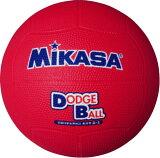 <ドッジボール>ミカサ 教育用 2号 レッド D2-R【取寄】