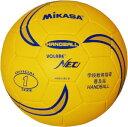 【最大6%OFFクーポン】ハンドボール ミカサ ソフトハンドボール1号 軽量約110g 黄/青 HVN110S-B 取寄