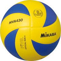 3240円で送料無料 25%OFF ミカサ バレーボール 練習球4号 黄/青 MVA430 取寄の画像