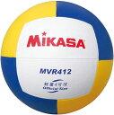 20%OFF 全品7%OFFクーポン ミカサ バレーボール 練習球4号 軽量約210g 黄/青 MVR412 取寄