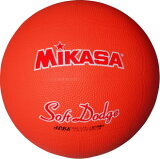 ★<ドッジボール>MIKASA(ミカサ) ソフトドッジボール1号 軽量約180g オレンジ STD-1R-O【取寄S】