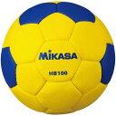 20%OFF 最大10%引クーポン ミカサ ハンドボール 1号球 屋外用検定球 黄/青 HB100