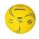 最大10%引クーポン ミカサ ハンドボール ソフトハンドボール1号 軽量約140g 黄 HRVN1-Y 取寄