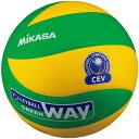 最大10%引クーポン ミカサ バレーボール 欧州チャンピオンズリーグ公式試合球 黄/緑 MVA200CEV