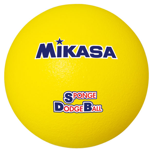 20%OFF 最大10%引クーポン ミカサ スポンジドッジボール 135g STD-18-Y レジャー