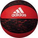 アディダス バスケットボール シャドースクワッド 7号球 レッド×ブラック AB7123R