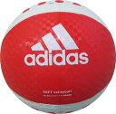 アディダス ソフトバレーボール 赤×白 AVSRW