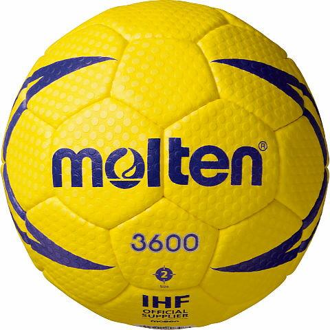 最大6%OFFクーポン 名入れ可(有料) モルテン ハンドボール ヌエバX3600 2号 屋外グラウンド用 検定球 H2X3600 取寄