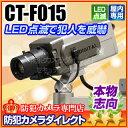 防犯カメラ ダミー【CT-F015】 LED点滅 本格志向 ...