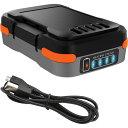 RoomClip商品情報 - 【メーカー直販】ブラック・アンド・デッカー【BDCB12U】GoPak充電池(USBケーブル付き)
