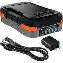 RoomClip商品情報 - 【メーカー直販】ブラック・アンド・デッカー【BDCB12UC】GoPak充電池(USBケーブル・ACアダプタ付き)