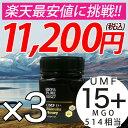マヌカハニー UMF15+ 3個セット 250g ハニーバレ...