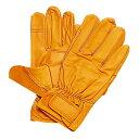 [ 送料無料 工具 ] 革手袋 Lサイズ [イエロー]×5双 【RCP】 工具セット 作業手袋 レザ...