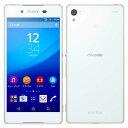 中古スマートフォンSONY Xperia Z4 docomo(ドコモ) ホワイト SO-03G/W 【中古】 SONY Xperia Z4 中古スマートフォンオクタコア Android6.0 SONY Xperia Z4 中古スマートフォンオクタコア Android6.0