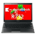 【エントリーでポイント10倍!】中古ノートパソコンTOSHIBA dynabook R732/F PR732FAAR3BA51 【中古】 TOSHIBA dynabook R732/F 中古ノートパソコンCore i5 Win7 Pro TOSHIBA dynabook R732/F 中古ノートパソコンCore i5 Win7 Pro