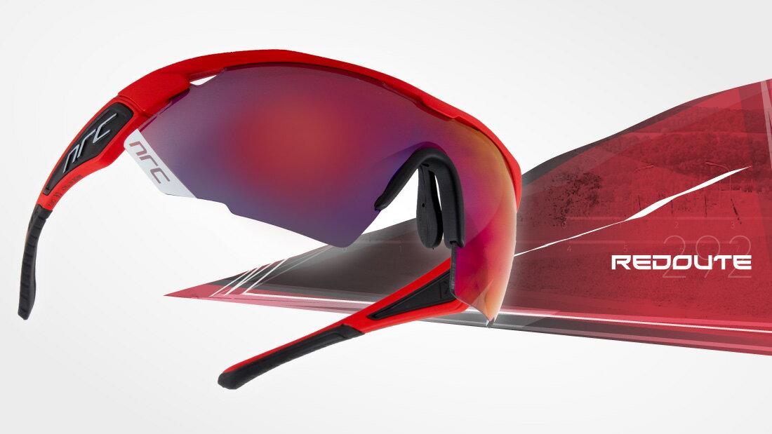 サングラスイタリアブランドNRC occhiali X3.REDOUTE自転車競技、他様々なスポーツに! スポーツサングラス ノーズパッドは調節可能!超フィットサングラス高機能レンズ!