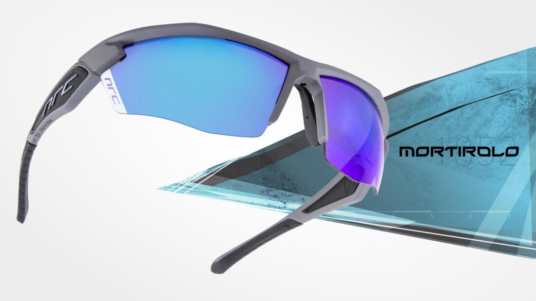 サングラスイタリアブランドNRC occhiali X5.MORTIROLO自転車競技、他様々なスポーツに! スポーツサングラス ノーズパッドは調節可能!超フィットサングラス高機能レンズ!