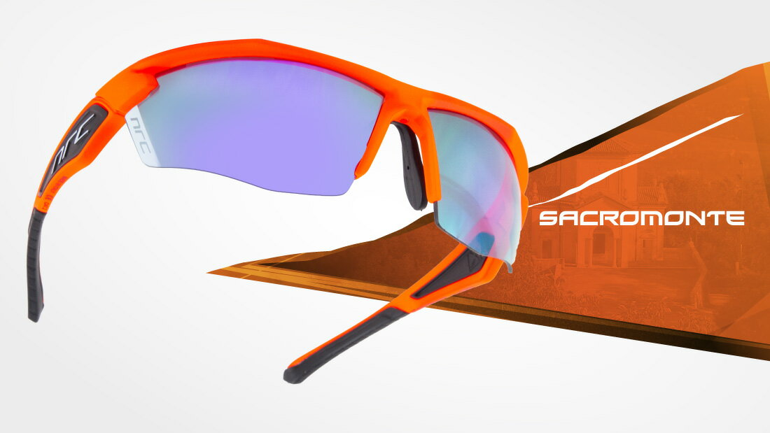 サングラスイタリアブランドNRC occhiali X5.SACROMONTE自転車競技、他様々なスポーツに! スポーツサングラス ノーズパッドは調節可能!超フィットサングラス高機能レンズ!